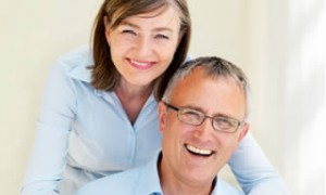 white smiles on older people